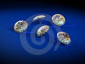 Brilliants diamonds Free Stock Photography