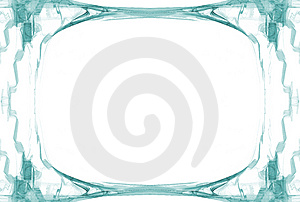 Border- Cyan With Copyspace Stock Image - Image: 2246671