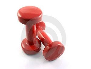 Red Dumbbells II
