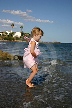 Jumping The Waves Royalty Free Stock Photo - Image: 2248245