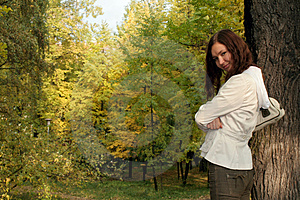 Girl And Nature Stock Photos - Image: 2248973