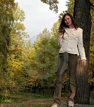 Girl And Nature Stock Photo - Image: 2248980