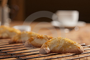 Pasty On A Rack Stock Photos - Image: 22403243