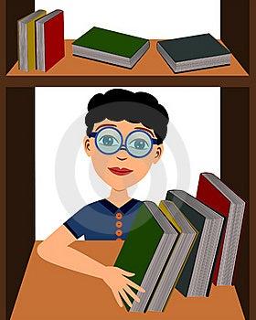 Boy Picks Book Royalty Free Stock Image - Image: 22406626