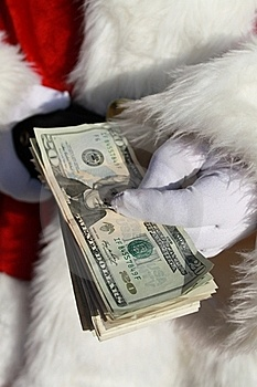 Rich Santa 2 Stock Images - Image: 22406714