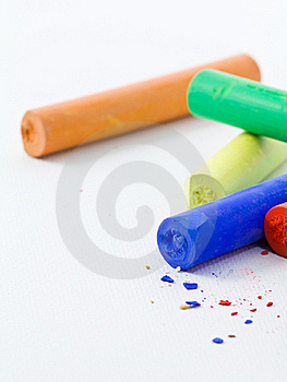 Pastel Sticks Stock Photos - Image: 22412923