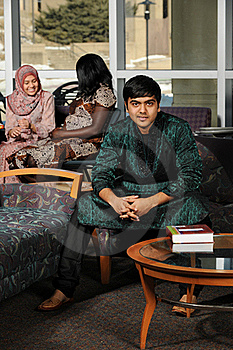 Indian Student Wearing His Traditional Attire Royalty Free Stock Photos - Image: 22413978