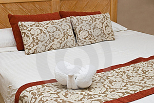 Interior With A Bed Royalty Free Stock Photos - Image: 22429188