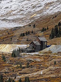 Rustic Colorado Mine Stock Images - Image: 22433334