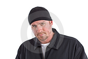 Angry Looking Man Royalty Free Stock Image - Image: 22434416