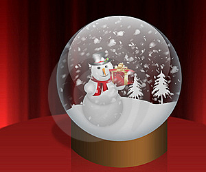 Happy Snowman Royalty Free Stock Photos - Image: 22437558