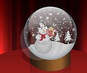 Happy Snowman Royalty Free Stock Photos - Image: 22437558