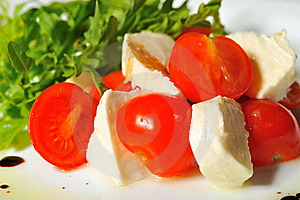 Italian Caprese Salad Royalty Free Stock Images - Image: 22447299