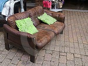 Abandoned Old Sofa Royalty Free Stock Image - Image: 22451336