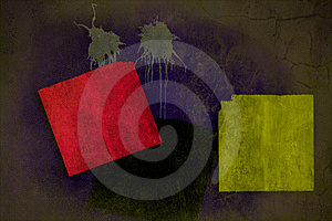 Grunge Wall Background On Multiple Planes Royalty Free Stock Photography - Image: 22456857