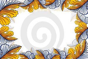 Leaf Photo Frame Royalty Free Stock Photo - Image: 22462345