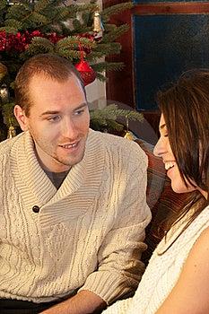 Young Couple Communicating Stock Photography - Image: 22465302