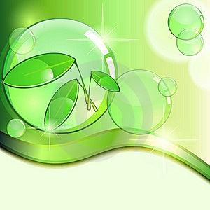 Green Eco Background Stock Photos - Image: 22473123