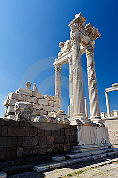 Temple Of Trajan Stock Images - Image: 22473134