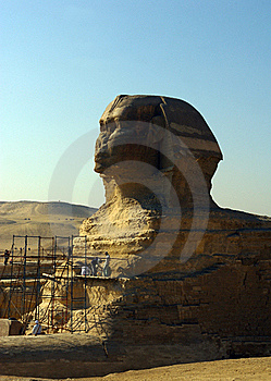 Sphinx Of Giza. Stock Photography - Image: 22476282