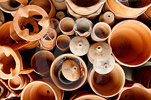 Clay Pottery Royalty Free Stock Photography - Image: 22476897