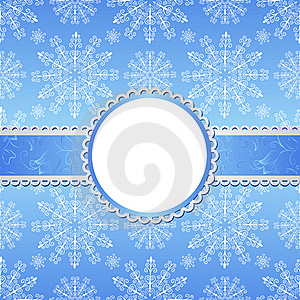 Christmas Background With Snowflakes. Stock Images - Image: 22485064