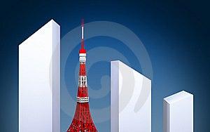Tokyo Tower Stock Photo - Image: 22488330