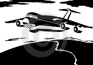 A Passenger Airliner Royalty Free Stock Photo - Image: 22488555