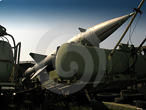 Aircraft Missile Stock Images - Image: 2255184