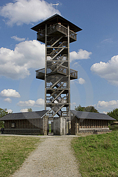 Tower In The Fagnes Stock Image - Image: 22501421