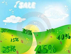 Sale Paradise Stock Photography - Image: 22501612