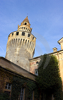 The Tower Of Rivalta Castle Stock Image - Image: 22506921