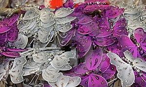 Borboletas Decorativas Fotos de Stock - Imagem: 22521913