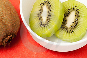 Cut Kiwi Royalty Free Stock Photo - Image: 22523605