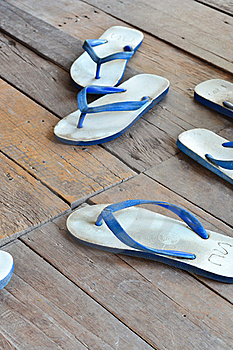 Sandal Or Slipper Royalty Free Stock Image - Image: 22529736