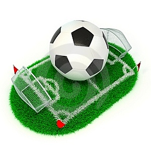 Concept Soccer Royalty Free Stock Images - Image: 22529829