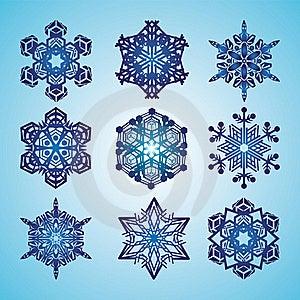 Snowflakes Royalty Free Stock Image - Image: 22531606