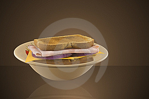 Soup And Sandwich Royalty Free Stock Photography - Image: 22532887