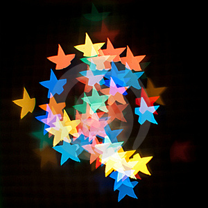 Star Bokeh. Stock Photo - Image: 22540310