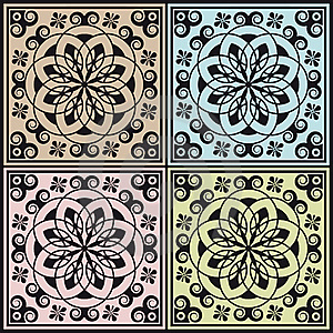 Abstract Modular Arabesque Decoration Royalty Free Stock Images - Image: 22544889