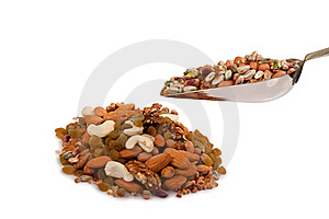 Mixed Dry Fruits Stock Images - Image: 22550974