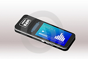 MP3 Player Royalty Free Stock Photo - Image: 22553775