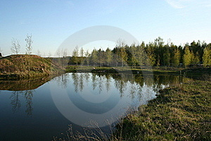 Farmers Pond Stock Photo - Image: 22554530