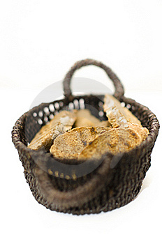 Bread Basket Royalty Free Stock Image - Image: 22554786