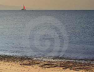 2012 Year On The Beach Of Eilat, Israel Royalty Free Stock Photos - Image: 22558278