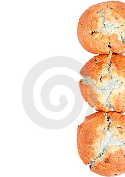Blueberry Muffins Royalty Free Stock Photos - Image: 22558348