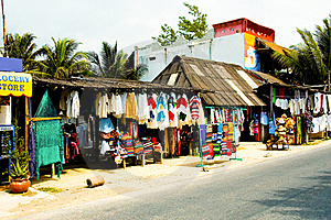 Mexican Marketplace Royalty Free Stock Photography - Image: 22558437