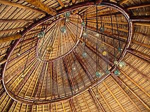 Palapa Roof Royalty Free Stock Photo - Image: 22558455