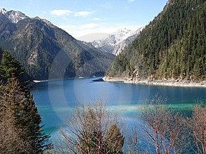 Lake View With Mountains Stock Photos - Image: 22559743