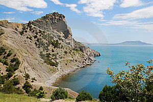 Cape Hoba-Kaya On The Crimean Coast. Stock Photography - Image: 22563122